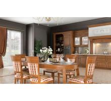 Кухня Гарда прованс, цвет - коричневый
