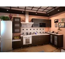 Кухня Анонс прованс, цвет - коричневый