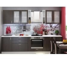 Кухня Дина кантри, цвет - венге, белый