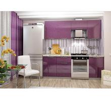 Кухня София кантри, цвет - зеленый, фиолетовый, красный