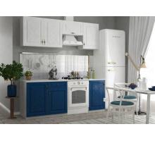Кухня Гранд кантри, цвет - белый, синий