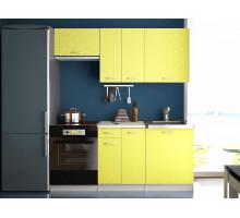 Кухонный гарнитур Сан-Ремо желтый, стиль - классический