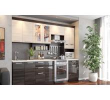 Кухонный гарнитур Венеция, цвет - венге, стиль - современный