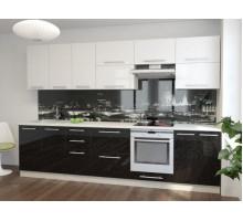 Кухонный гарнитур Стелла-5, цвет - металлик, стиль - современный