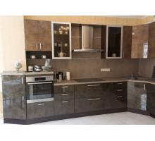 Кухня Еврат, цвет - коричневый, стиль - классический