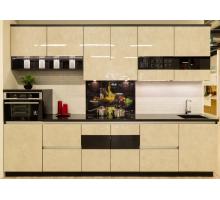 Кухня Маас, цвет - бежевый, стиль - современный