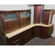 Кухня Хамелеон, цвет - коричневый, стиль - современный