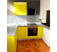Кухня желтая, стиль - современный