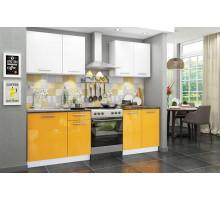 Кухня Хелена, цвет - желтый, стиль - современный