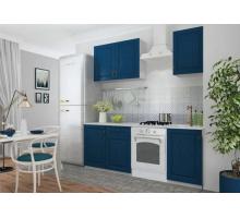 Кухонный гарнитур Гранд, цвет - синий, стиль - современный