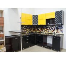 Кухня, цвет - желтый, стиль - классический