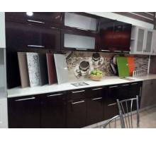 Кухня Хамелеон - 1, цвет - черный, стиль - современный