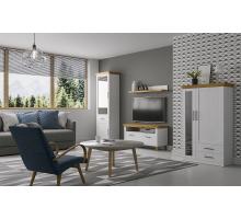 Гостиная Магнум Е-3264, цвет - Блан шене,  стиль - современный