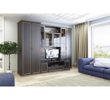 Гостиная Марина, цвет -  Chesterfild oak, стиль - классический