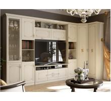 Гостиная Лючия ГС К3, цвет - штрихлак, стиль - классический