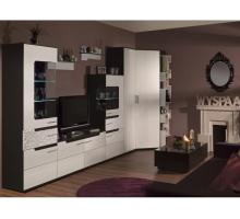 Модульная гостиная WYSPAA, цвет - венге / бодега светлый, стиль - современный