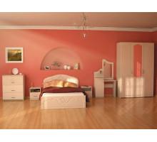 """Спальный гарнитур """"Сабрина-2"""", цвет - клен, стиль - современный"""