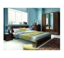 """Спальный гарнитур - """"Беатрис"""", цвет - орех гепланкт, стиль - классический"""