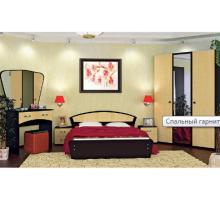 Спальный гарнитур Vivo-7, цвет - венге+клен, стиль - современный