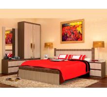 Спальный гарнитур Vivo-10, цвет - ясень шимо темно-светлый, стиль - классический