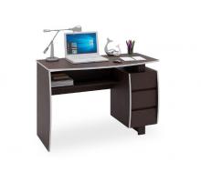 """Офисный стол """"Экстер-7"""", цвет - венге, стиль - современный"""
