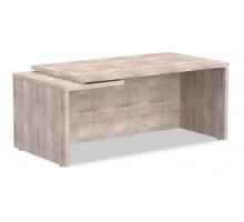 """Длинный офисный стол """"Torr"""", цвет - дуб каньон, стиль - современный"""
