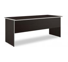 """Длинный офисный стол  """"Свифт-1"""", цвет - дуб темный, стиль - классический"""