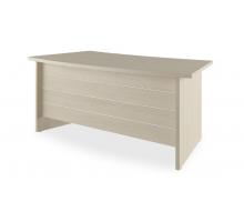 """Длинный офисный стол """"Grand"""", цвет - дуб светлый, стиль - классический"""