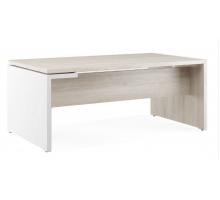 """Длинный офисный стол  """"Zion"""", цвет - дуб белый, стиль - классический"""