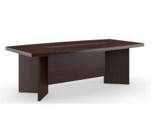 """Длинный офисный стол """"Monza-A"""", цвет - венге, стиль - современный"""