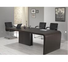 """Длинный офисный стол """"Дали"""", цвет - венге, стиль - современный"""