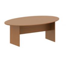 """Длинный офисный стол """"Арго"""", цвет - орех, стиль - классический"""