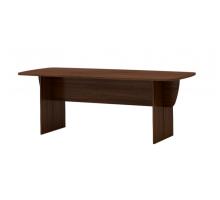 """Длинный офисный стол """"Гермес"""", цвет - Орех мария луиза, стиль - классический"""