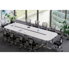"""Офисная переговорная комната """"Мобайл"""", цвет - белый, стиль - современный"""