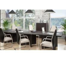 """Офисная переговорная комната """"Torr"""", цвет - венге , стиль - современный"""