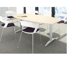 """Офисная переговорная комната """"Tonneau"""", цвет - акация аури, стиль - современный"""