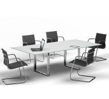 """Офисная переговорная комната """"ORBIS-CARRE"""", цвет - белый, стиль - современный"""