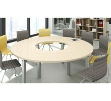 """Офисная переговорная комната """"MULTIMEETING-1"""", цвет - акация аури, стиль - современный"""
