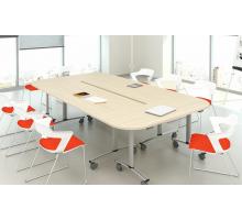 """Офисная переговорная комната """"Connect"""", цвет - акация аури, стиль - современный"""