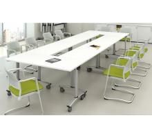 """Офисная переговорная комната """"Connect-2"""", цвет - белый, стиль - современный"""