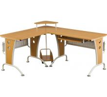 Компьютерный стол L - образный, цвет дуб, стиль - современный
